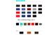 Bảng màu nỉ 190