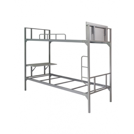 Bàn viết giường tầng sắt BJS-2T